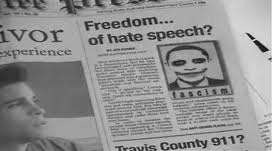 Free Speech or Hate Speech?