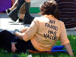 will your family values fit on a T-shirt?